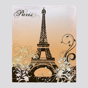 Eiffel Tower Paris Blanket