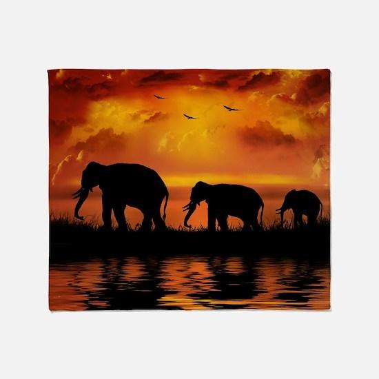 Elephant Safari Blanket