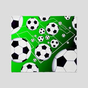 Soccer Field Blanket