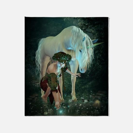 Fairytale Magic Throw Blanket