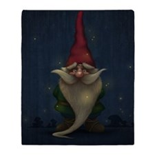 Old Christmas Gnome Blanket