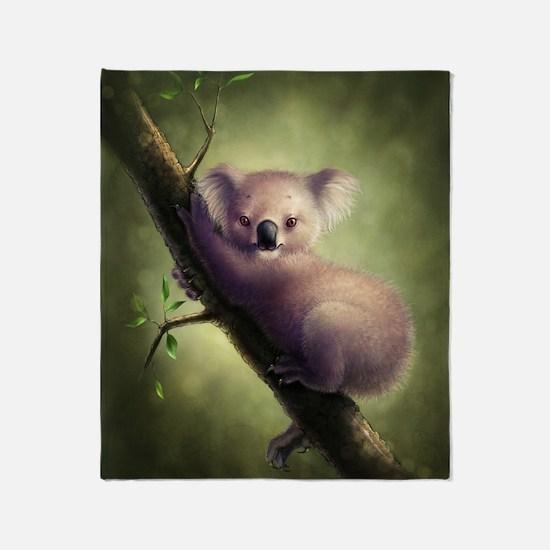 Cute Koala Bear Blanket