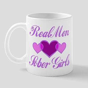Real Men Love Sober Girls Mug