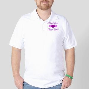 Real Men Love Sober Girls Golf Shirt
