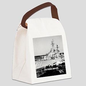 vesole dd framed panel print Canvas Lunch Bag