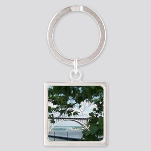 May Square Keychain