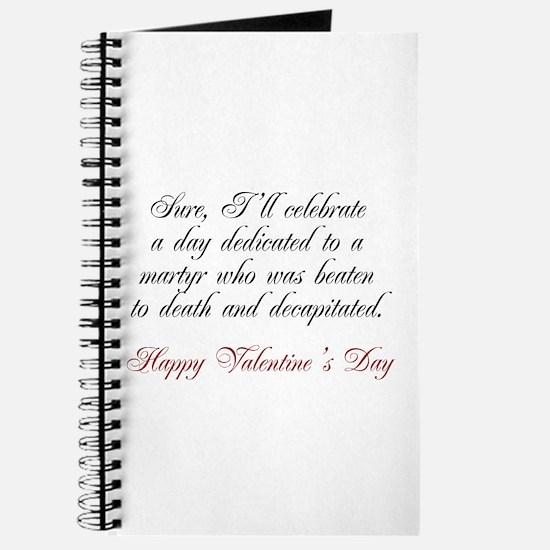 Martyr Valentine Journal