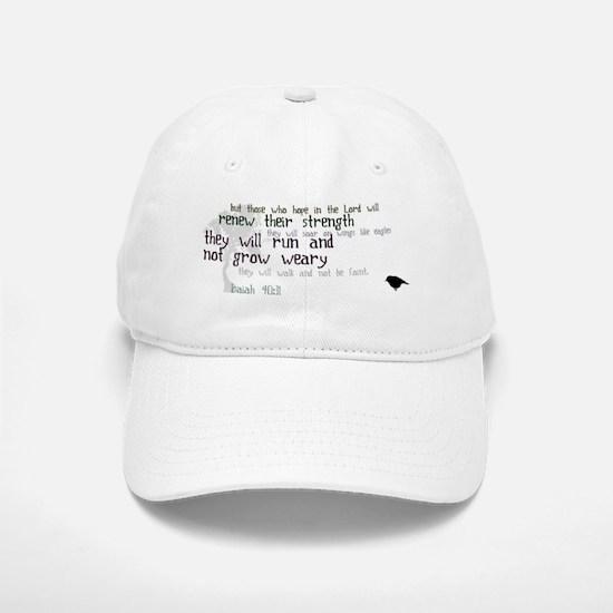 Isaiah 40:31 Baseball Baseball Cap