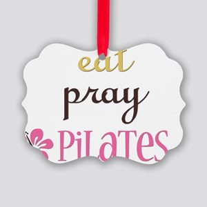pilates2 Picture Ornament