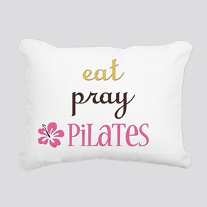 pilates2 Rectangular Canvas Pillow