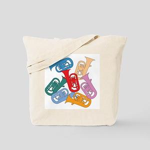 Colorful Euphoniums - Tote Bag