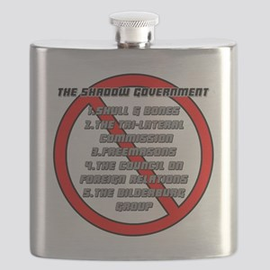 The Shadow Government Flask