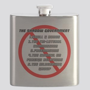 The Shadow Government Blk Flask