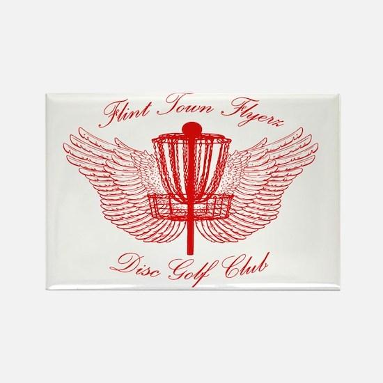Flint Town Flyerz Disc Golf Club Rectangle Magnet
