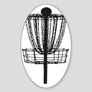 DG Basket Sticker (Oval)