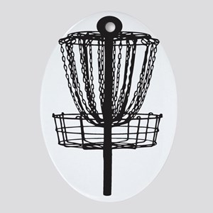 DG Basket Oval Ornament