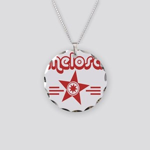 melosa dark full Necklace Circle Charm