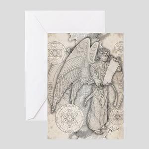 MetatronNEW10x14 Greeting Card