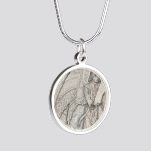 MetatronSquare Silver Round Necklace