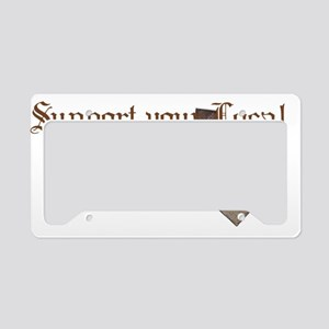 Tea Party Hat License Plate Holder