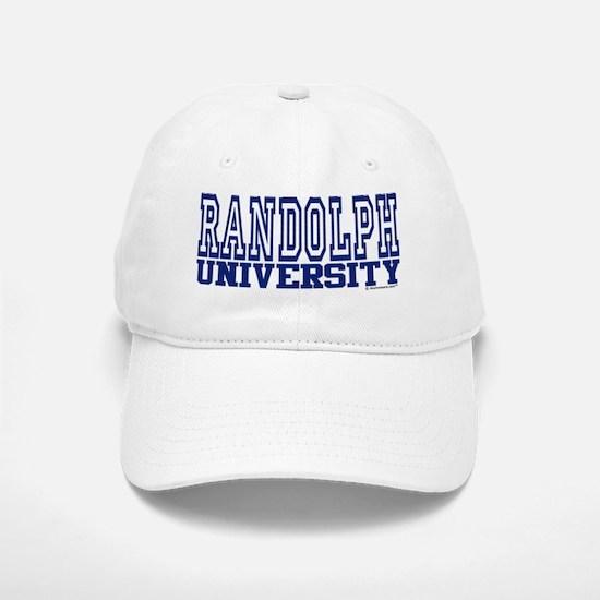 RANDOLPH University Baseball Baseball Cap