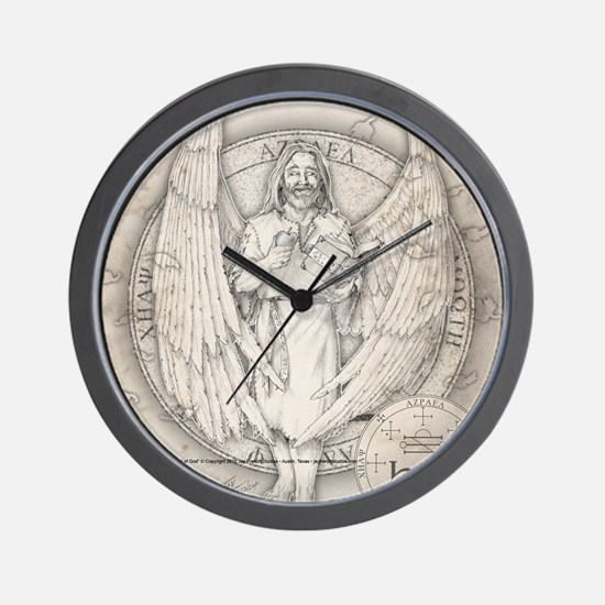 AzraelSquare Wall Clock