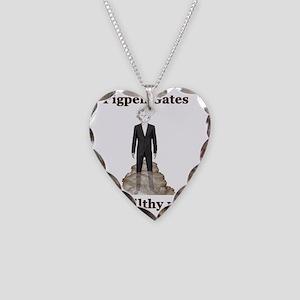 Pigpen Gates Necklace Heart Charm