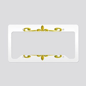 BELIEVE FLEUR2 License Plate Holder