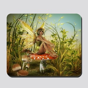 Indian Summer Fairy Mousepad