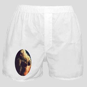 oval shadowy heidi Boxer Shorts
