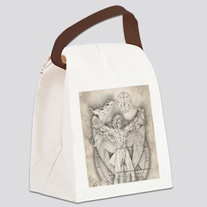UrielSquare Canvas Lunch Bag
