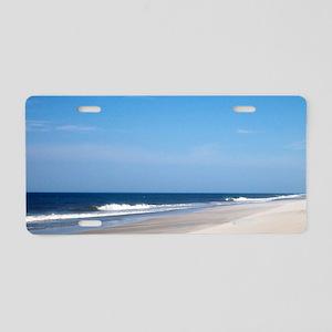Hatteras Island Beach Aluminum License Plate