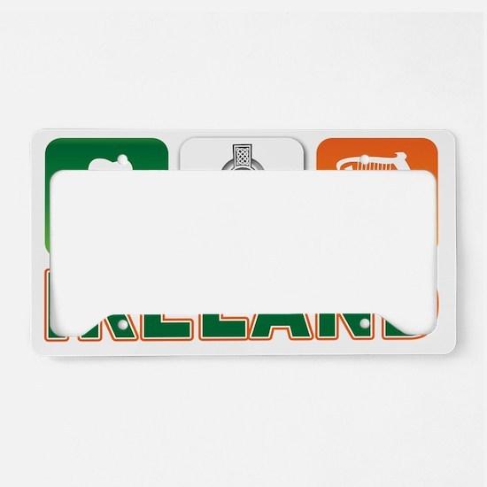 IRELAND Aa License Plate Holder