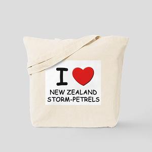 I love new zealand storm-petrels Tote Bag