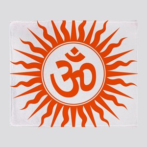 Spiritual Om Design Throw Blanket