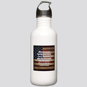 Jefferson Quote Liberty Water Bottle