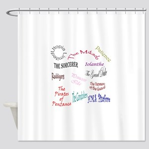 shows Shower Curtain