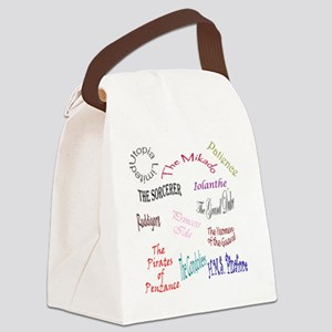 shows Canvas Lunch Bag