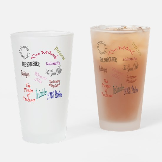 shows Drinking Glass