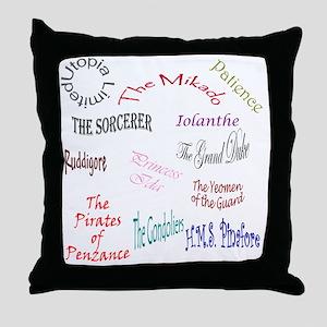 shows Throw Pillow