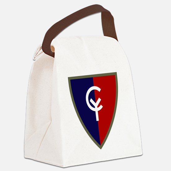 38th Infantry Division Canvas Lunch Bag