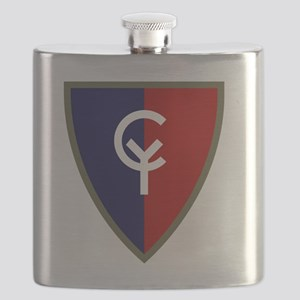 38th Infantry Division Flask