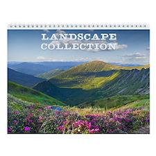 Landscape Collection Wall Calendar