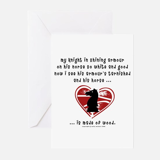 Knight in Shining Armour Greeting Cards (Package o