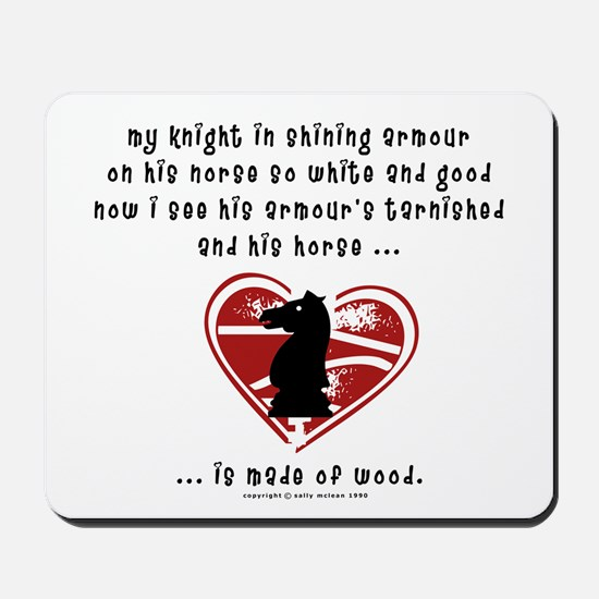 Knight in Shining Armour Mousepad