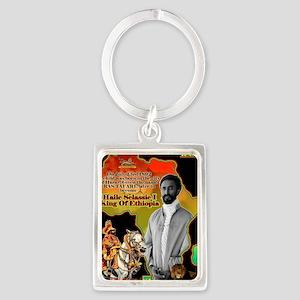 selassie africa Portrait Keychain
