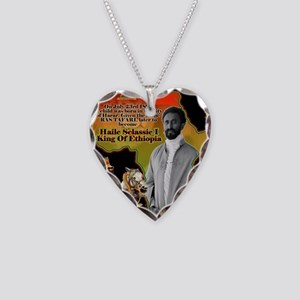 selassie africa Necklace Heart Charm