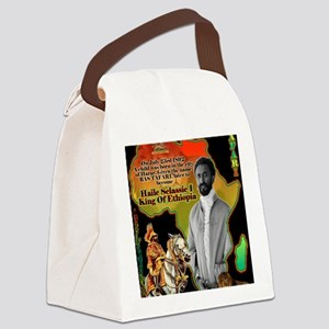 selassie africa Canvas Lunch Bag