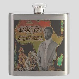 selassie africa Flask