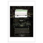 VIntage Typewriter Poster Art